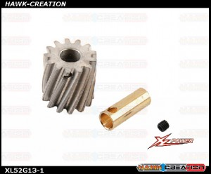 Heavy Duty Motor Pinion 13T 16MM - XL520