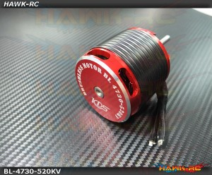 New KDS BL4730-520KV Brushless Motor Thick Wire Version- Agile 7.2
