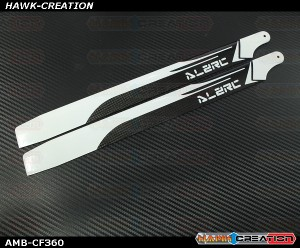 ALZ 360mm Carbon Fiber Main Blades