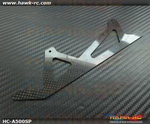 Carbon Fiber Landing Plate Spare For Compass Atom 500~5.5