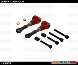 LYNX - Pro Edition DFC Arm - Red, Set - OXY3
