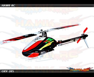 Oxy 3 Helicopter Kit Stretch 285mm