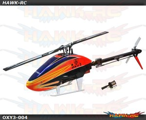Oxy 3 Helicopter Kit With Motor