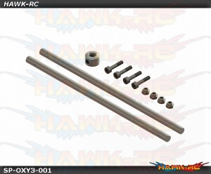Carbon Steel Main Shaft, 2pcs - OXY3