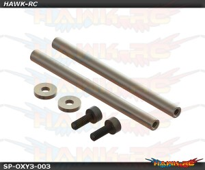 Carbon Steel Spindle Shaft, 2pcs - OXY3