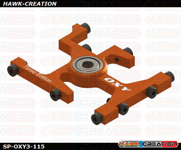 OXY3 TE - Upper Main Shaft Bearing Block, Orange