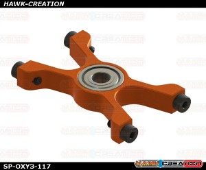 OXY3 TE - Lower Main Shaft Bearing Block, Orange