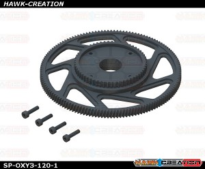 OXY3 TE - CNC Main Gear, 1 Set - OXY3