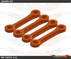 OXY3 TE - Boom Clamp Stiffener, Orange Set - OXY3