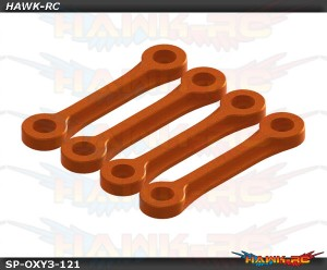 OXY3 TE - Boom Clamp Stiffener, Orange Set - OXY3
