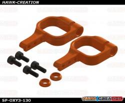 OXY3 TE - OXY3 CNC Alu Tail Servo Mount, Orange