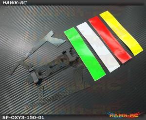 LYNX Aluminum Landing Gear - OXY3 TE