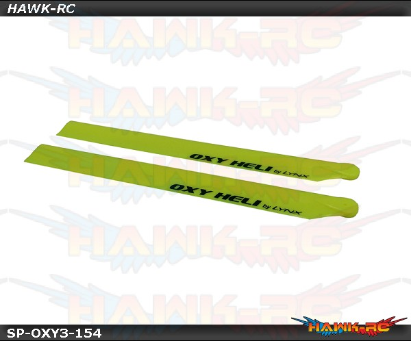 LYNX Plastic Main Blade 250mm - Yellow - 300X/CFX/OXY3
