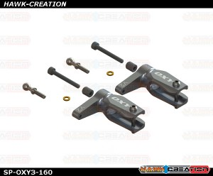 V2 Main Grip - Silver, 2Pcs - Set - OXY3