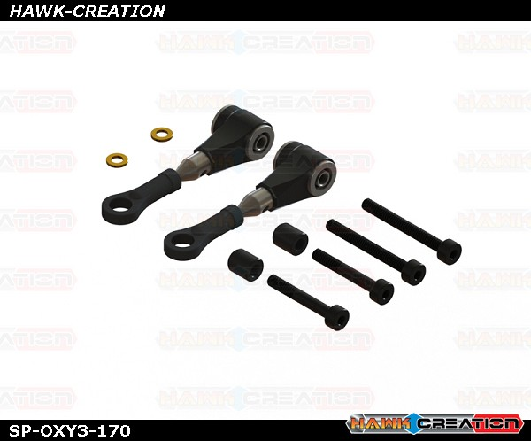 OXY3 - V1-V2 Pro Edition DFC Arm - Black, Set