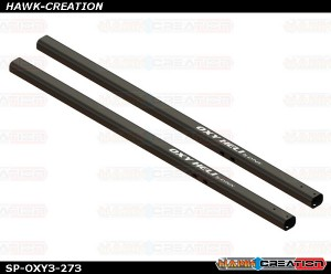 OXY3 - 285 Stretch - Tail Boom Spare, 2Pcs - OXY3