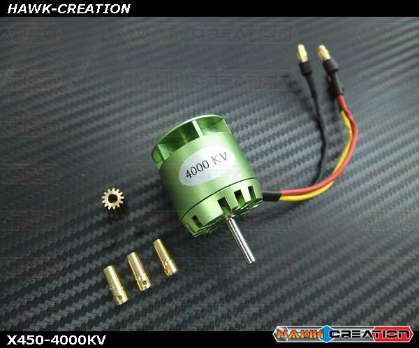 Brushless Motor -X450-4000KV (For OXY3)