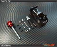 Spedix Integrated Tail Box(Black, 25mmΦ) - LOGO600/690/SE/SX Series