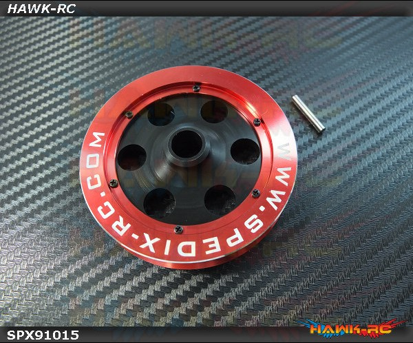 Spedix POM & Aluminum CNC Main Belt Pulley - LOGO500~600/SE/SX  Series