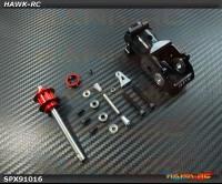 Spedix Integrated Tail Box(Black, 20mmΦ) - LOGO400/480/500 Series