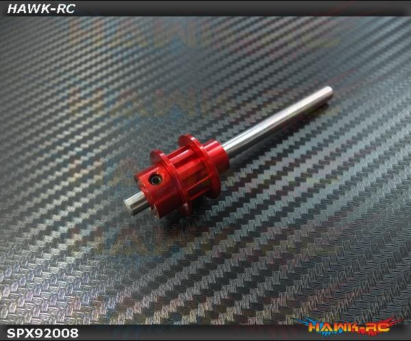 Spedix Metal Tail Belt Wheel Set - LOGO550SX/600/SE/SX Series