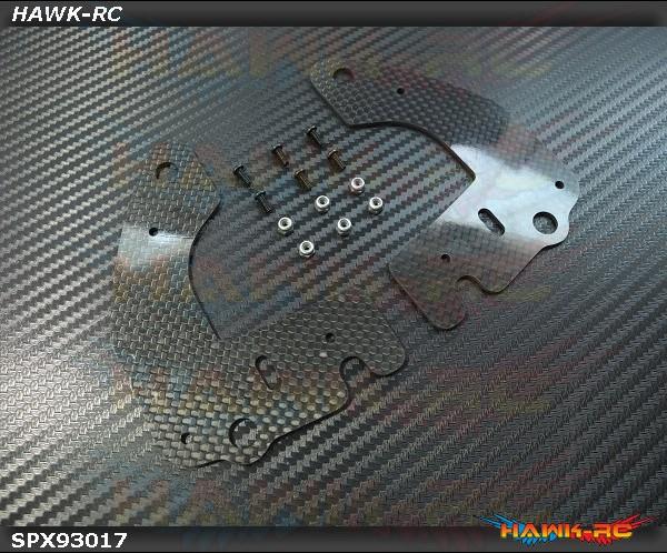 Spedix Frame Stiffener CF Spare Set - LOGO500~690 Series