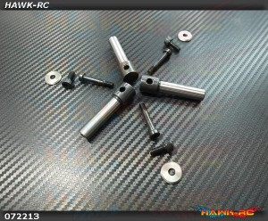 3 Blades Rotor Spindle Shafts Pack (For X7.NX7)