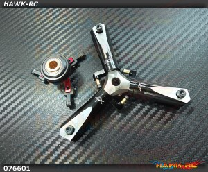 CNC 3 Blades Tail Rotor Head Ass'y (For X7.NX7)