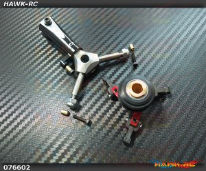 CNC 3 Blades Tail Rotor Head Upgrade Kit (For X7.NX7)