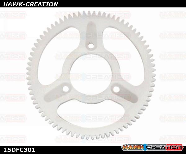 CNC Delrin 78T 0.3M Main Gear - Trex 150 DFC
