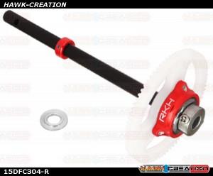 CNC Oneway Main Gear w/Solid Carbon Main Shaft Set - Trex 150