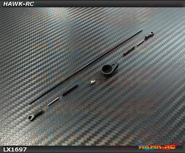 Lynx Belt Conversion_ Bag 10 ( Carbon Fiber Tail Push Rod) - 180CFX