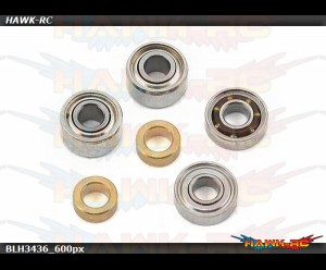 Tail Grip Bearing Set: 180 CFX
