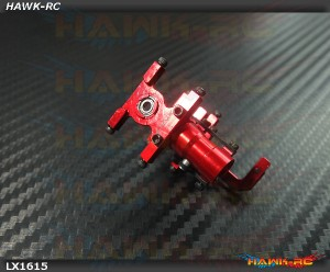 LYNX CNC Front Boom Mount Red - 180CFX