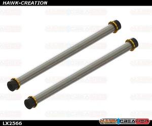 Carbon Steel Spindle shaft, 2 Set - 130S/180CFX