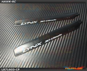 LYNX Carbon-Plastic Main Blade 160mm Black - 180CFX