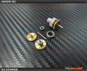 DEKO D1102 Complete Servo Gears Set
