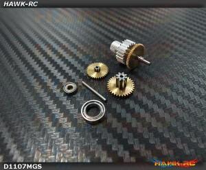 DEKO D1107 Complete Servo Gears Set
