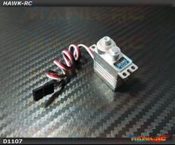 DEKO D1107 Digital Micro Size Tail Servo (0.04s, 3.4kg @ 7.4V Narrow Band)