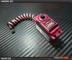 DEKO HV3125 Digital STD Size Tail Servo (0.033s, 7kg @ 7.4V Narrow Band)