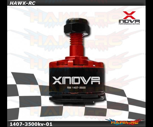 Xnova 1407-3500KV racing FPV motor combo