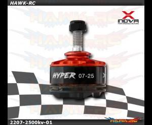 Xnova 2207-2500KV Hypersonic racing FPV motor combo