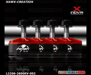 Xnova Lightning 2206-2600kV FPV Racing Brushless Motor Combo