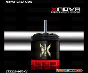 Xnova 3220-950kv Lighning motor Shaft A