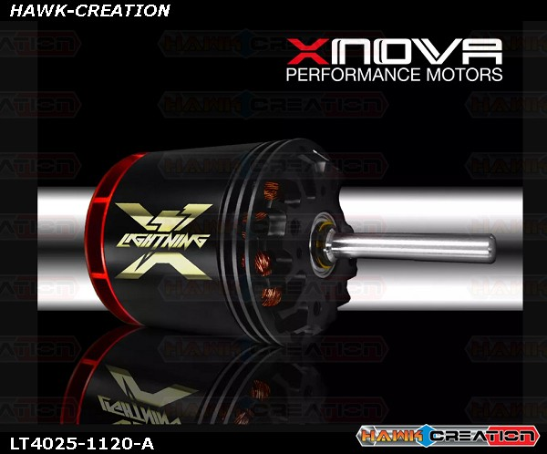 Xnova Lighnting 4025-1120KV 1.5Y Shaft B (6mm-28mm)