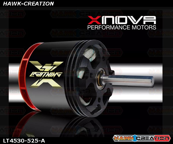 Xnova Lightning 4530-525kv 4+5YY  Shaft A (6mm-38mm)