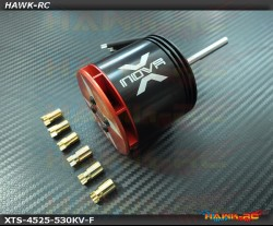 Xnova XTS 4525-530kv YY ( thick Wire) Shaft F
