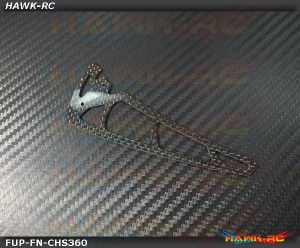 Fusuno Carbon Fiber Vertical Fin KDS Chase 360 (1.5mm) KC-360-038