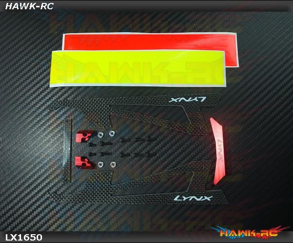 LYNX Ultra Landing Gear - Red - G380