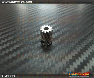 Tarot Pinion Helical Gear 12T For Φ3.5 mm Shaft 450L